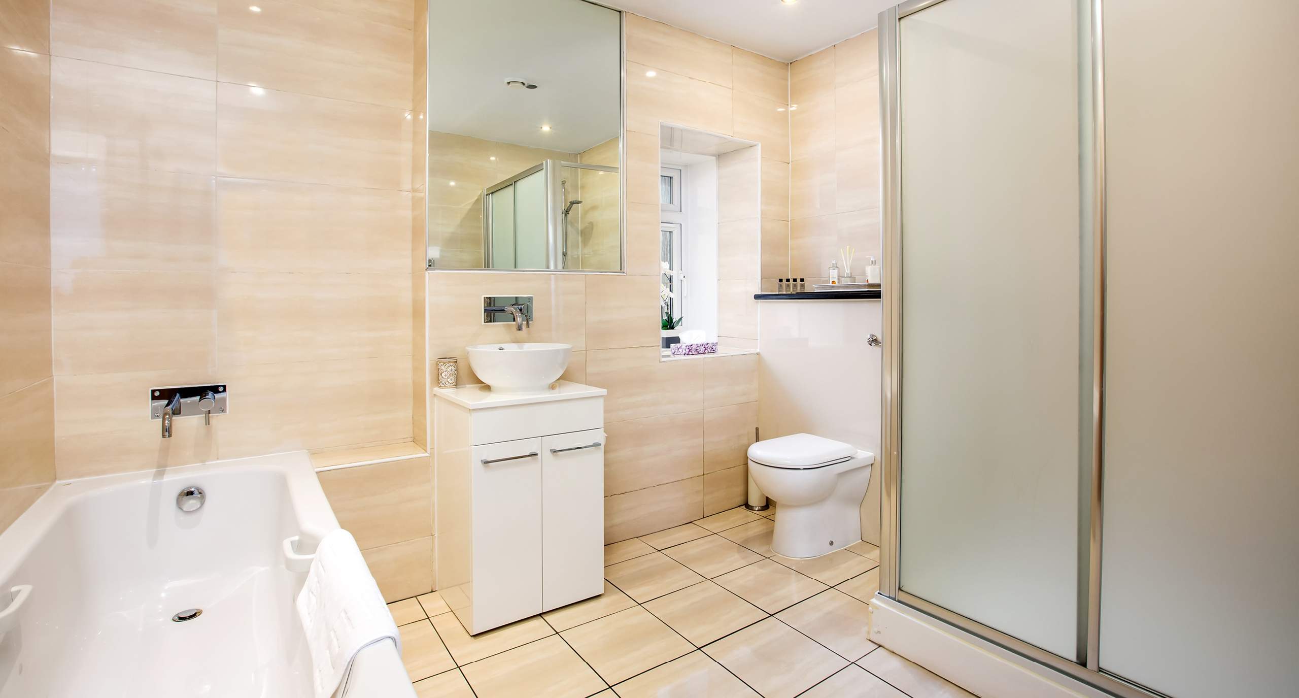 Blythswood Square Apartments Bathroom
