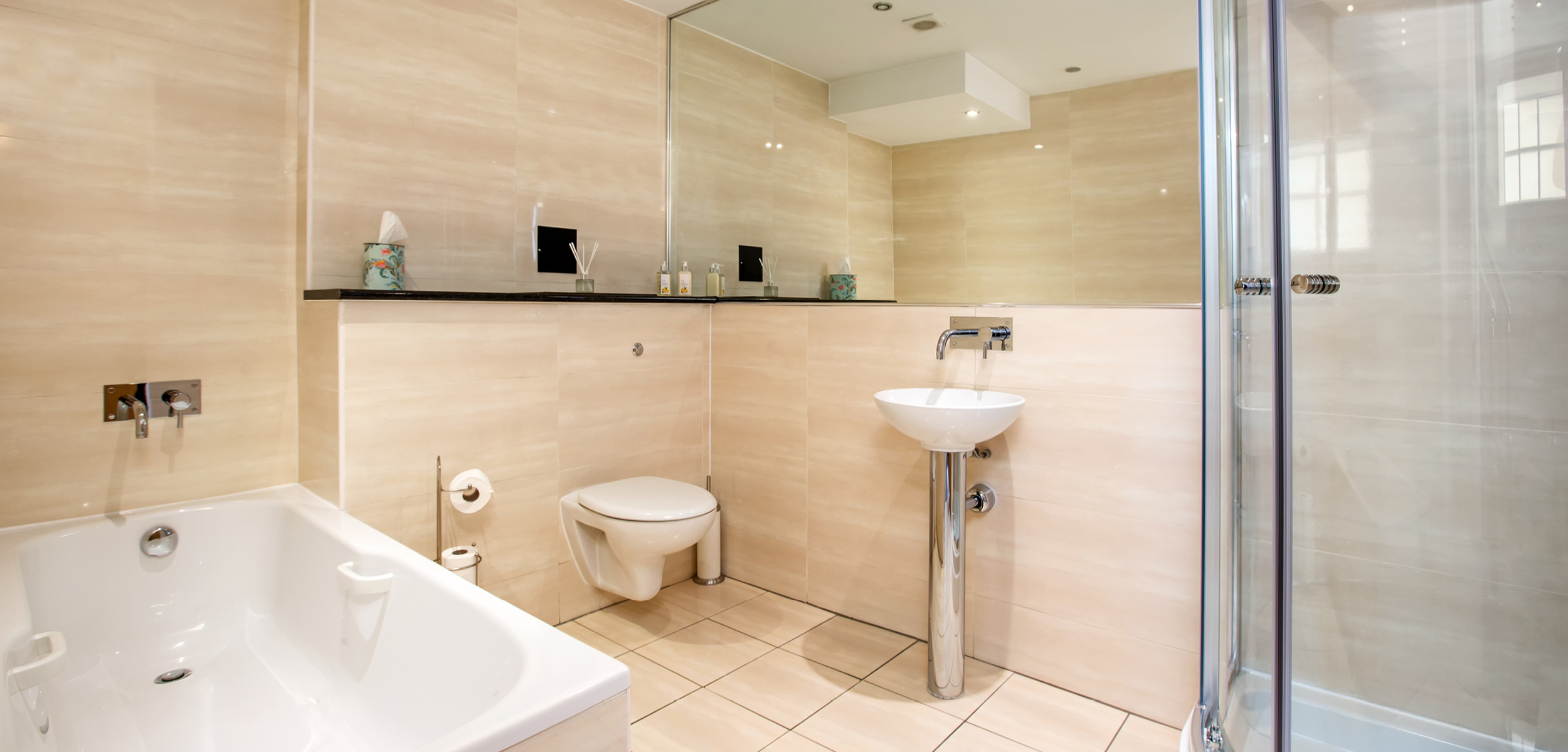Blythswood Square Apartment Bathroom