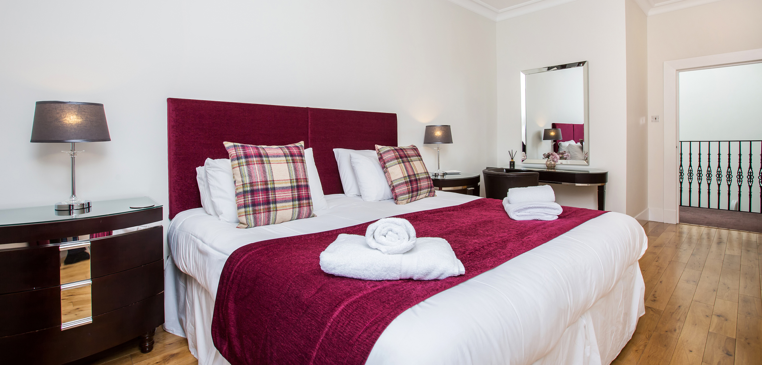 Blythswood Square Apartment Double Bed