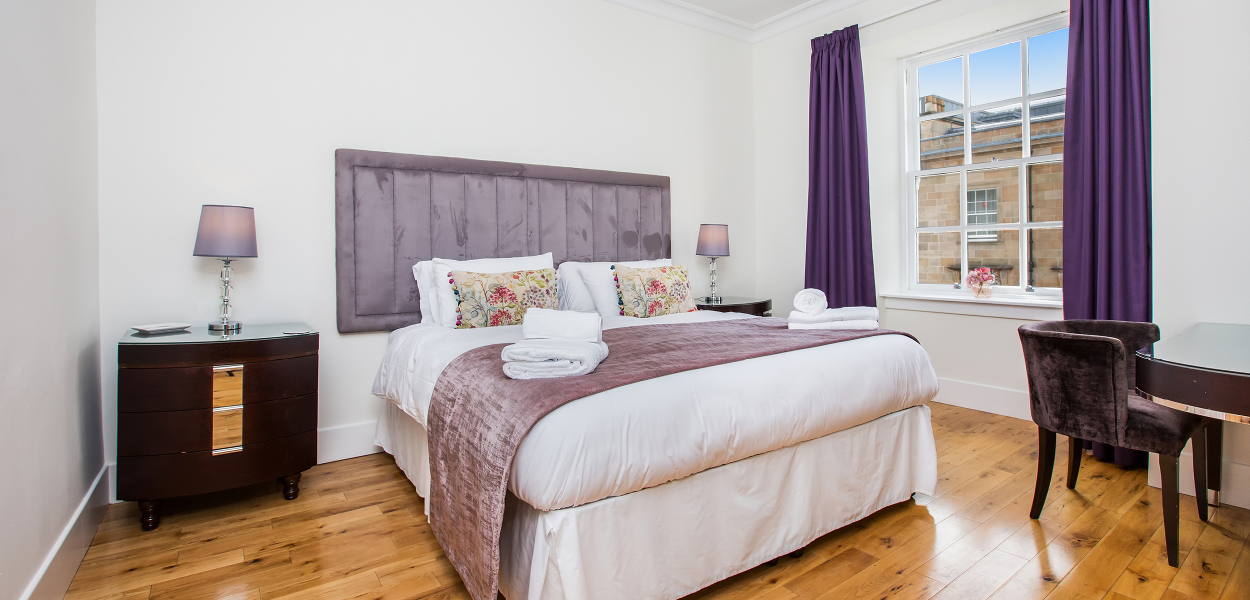 Blythswood Square Apartment Double Bedroom