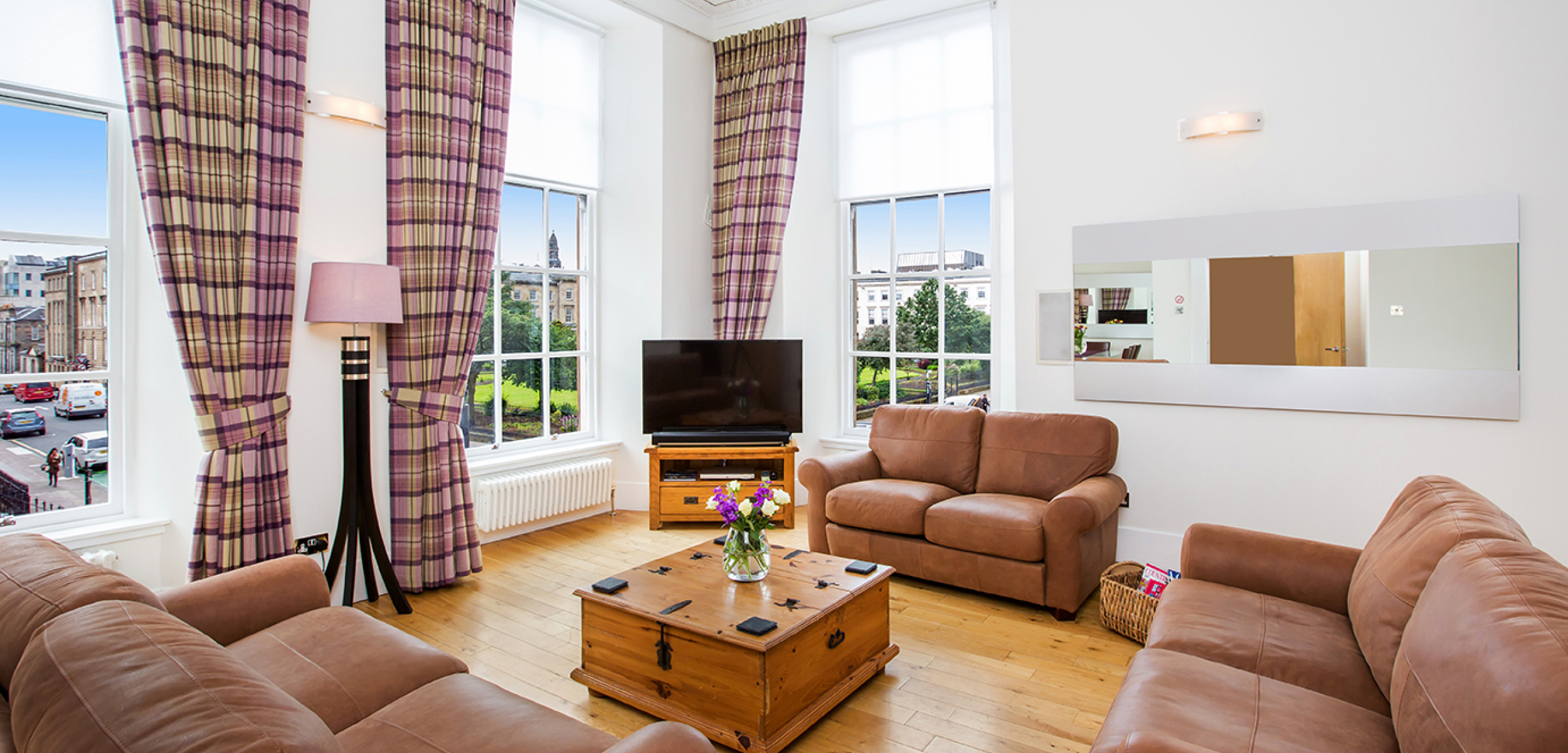 Blythswood Square Apartment Living Room