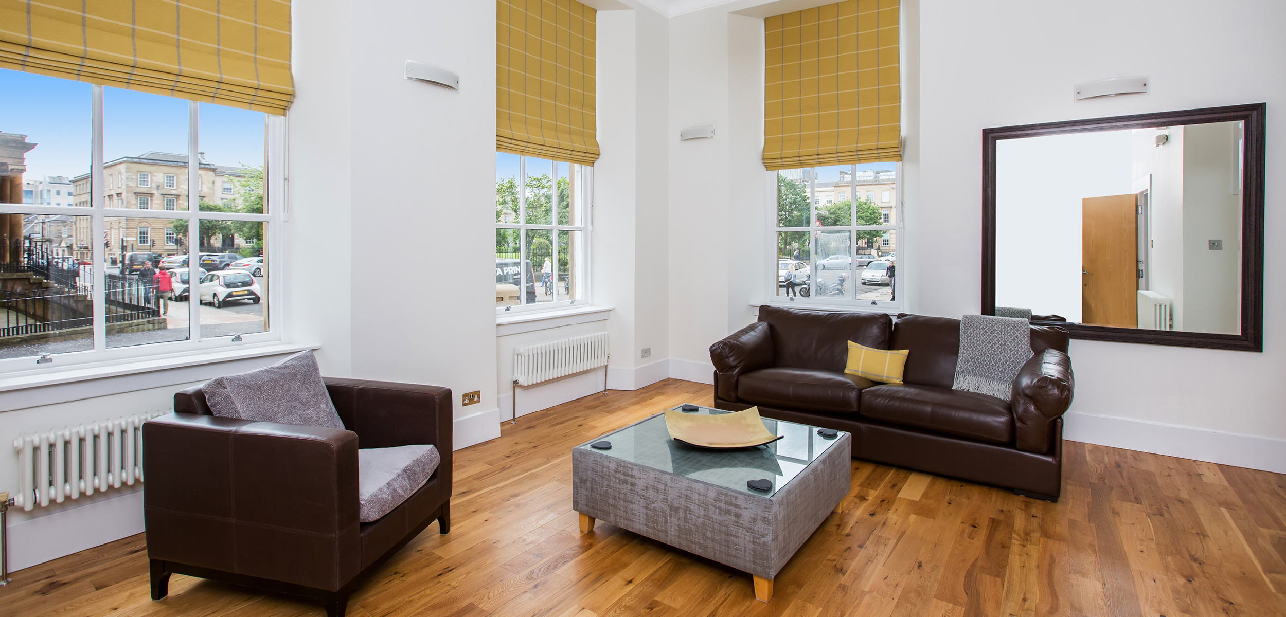 Blythswood Square Apartment Lounge