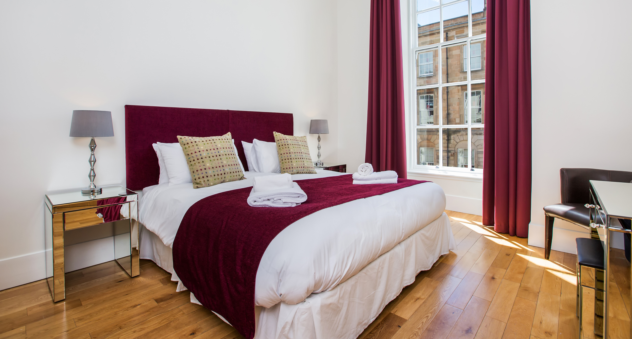 Blythswood Square Apartments Bedroom
