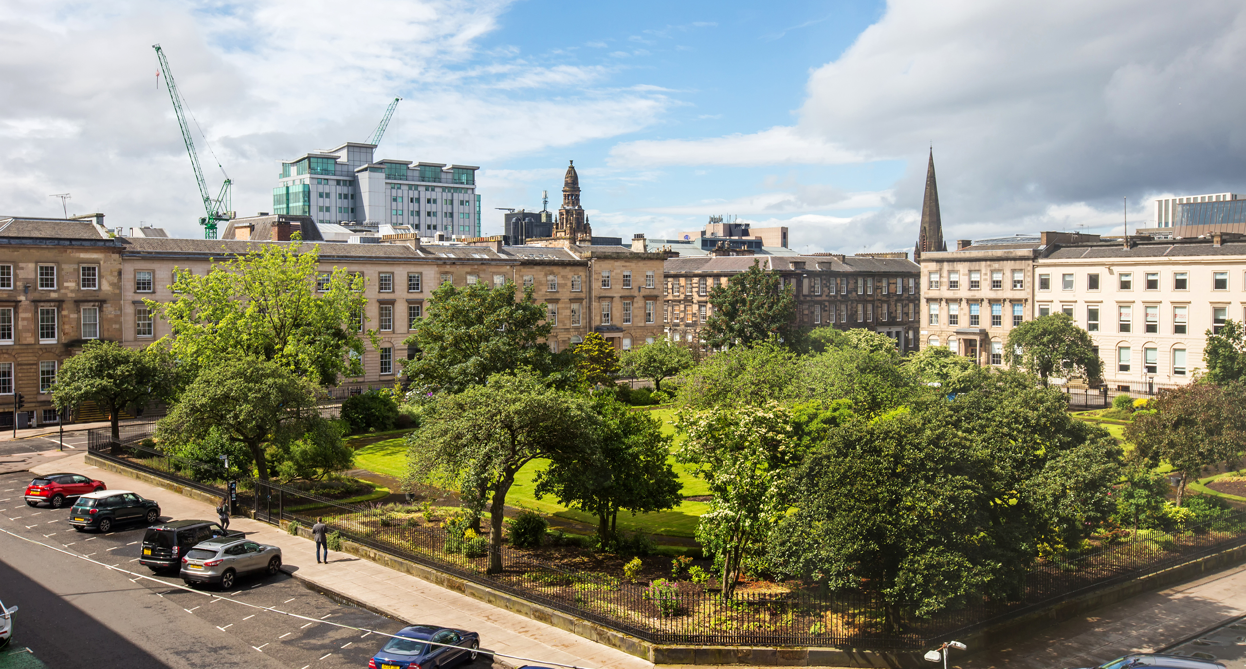View of Blythswood Square